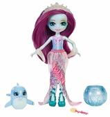 Кукла Enchantimals Морские подружки с друзьями Дольче Дельфин, 15 см, FKV55