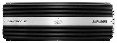 Автомобильный усилитель Alphard Deaf Bonce DB-7500.1D