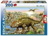 Пазл Educa Динозавры (15264), 200 дет.