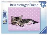 Пазл Ravensburger Котёнок отдыхает (12824), 200 дет.