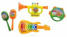 DoReMi набор инструментов Веселый оркестр D-00046