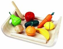 Набор продуктов с посудой PlanToys 3416