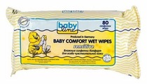 Влажные салфетки BabyLine Baby comfort Sensitive