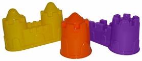 Набор Полесье замок башня + замок стена с двумя башнями + замок мост 37251