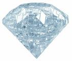 3D-пазл Crystal Puzzle Бриллиант (90006), 41 дет.