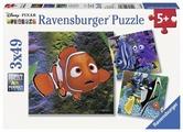 Набор пазлов Ravensburger Немо в аквариуме 3 в 1 (09371)