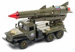 Ракетная установка ТЕХНОПАРК Урал Вооруженные силы (CT10-066-4) 1:43