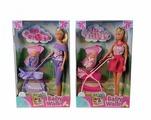 Simba Набор кукол Steffi Love Штеффи с ребенком, 29 см, 5733067029