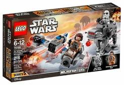 Конструктор LEGO Star Wars 75195 Бой пехотинцев Первого Ордена против Cпидера на лыжах