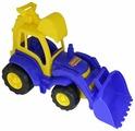 Трактор Полесье Чемпион с лопатой и ковшом (0513) 49 см