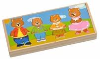 Рамка-вкладыш Мир деревянных игрушек Четыре медведя (Д165)