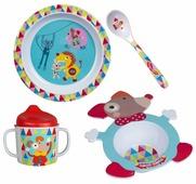 Комплект посуды Ebulobo Волшебный цирк (04EB0029)