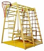 Спортивно-игровой комплекс Вертикаль Веселый малыш WOOD