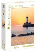 Пазл Clementoni High Quality Collection Закат на побережье с маяком(35003), 500 дет.