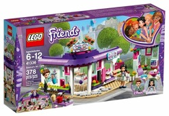 Конструктор LEGO Friends 41336 Арт-кафе Эммы
