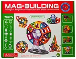 Магнитный конструктор Mag-Building Carnival GB-W78