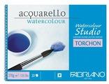 Альбом для акварели Fabriano Watercolour Studio Torchon 30.5 х 45.5 см, 270 г/м², 20 л.