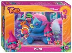 Пазл Step puzzle DreamWorks Trolls (91144), 35 дет.