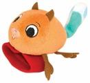 Погремушка Happy Snail Бельчонок Хруми на ручку