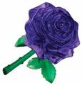 3D-пазл Crystal Puzzle Пурпурная роза (90413), 44 дет.