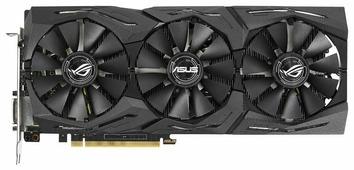 Видеокарта ASUS GeForce GTX 1070 Ti 1607MHz PCI-E 3.0 8192MB 8008MHz 256 bit DVI 2xHDMI HDCP Strix Gaming Advanced edition