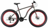 Велосипед Black One Monster 26 D (черный, 2018)