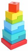 Пирамидка Alatoys Ступеньки (8 деталей)