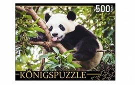 Пазл Рыжий кот Konigspuzzle Большая панда (ГИК500-8300), 500 дет.