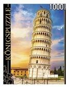 Пазл Рыжий кот Konigspuzzle Италия Пизанская башня (ГИК1000-8228), 1000 дет.