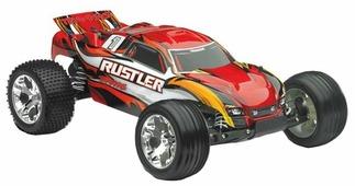 Трагги Traxxas Rustler (37054) 1:10 44.5 см