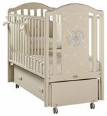 Детская кроватка Feretti Mon Amour Swing AVORIO/IVORY (слоновая кость)
