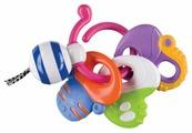 Прорезыватель для зубов Happy Baby Веселые ключи 330058