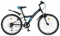 Подростковый горный (MTB) велосипед Novatrack Racer 24 6 (2018)