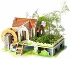 3D-пазл Zilipoo 3D Радужный дом (Z-006), 29 дет.