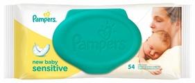 Влажные салфетки Pampers New baby Sensitive