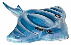Надувная игрушка-наездник Intex Скат 57550