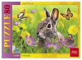 Пазл Hatber Little Friends Зайчонок (80ПЗ5_14475), 80 дет.