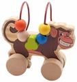 Каталка-игрушка Мир деревянных игрушек Обезьяна (Д357)
