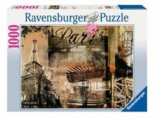 Пазл Ravensburger Воспоминание о Париже (15729), 1000 дет.