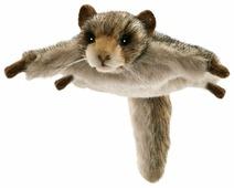 Мягкая игрушка Hansa Белка летяга 6 см