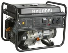 Бензиновый генератор Hyundai HHY 5000F (4000 Вт)