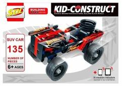 Конструктор Sdl Kid Construct 2018A-8 Кроссовер черный