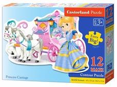 Пазл Castorland Princess Carriage (B-120017), 12 дет.
