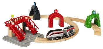 Brio Стартовый набор с поездом и управляющими тоннелями, серия Smart Tech 33873