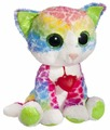 Мягкая игрушка Fancy Кот Фенсик разноцветный с сердечком 23 см