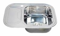 Врезная кухонная мойка Saniteco WY-6349 63х49см нержавеющая сталь