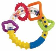 Прорезыватель-погремушка Canpol Babies Разноцветные колечки 2/450