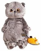 Мягкая игрушка Basik&Co Кот Басик и мышка 22 см