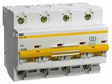 Автоматический выключатель IEK ВА 47-100 4P (C) 10kA