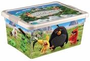 Контейнер Бытпласт Angry birds 34х24х16 см (4312648)
